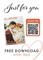 View a flyer to promote Your Herts and Beds Wedding magazine