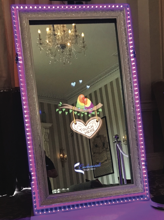Check out the Enchanted Magic Mirror