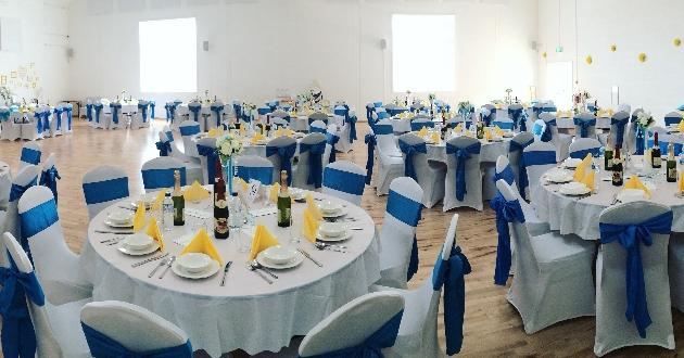 Great Denham Community Hall reception space