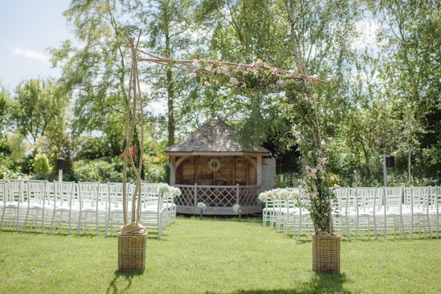 South Farm's beautiful ceremony space