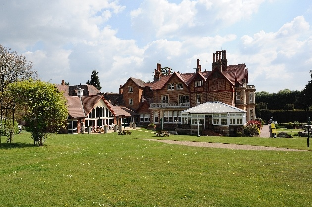 Pendley Manor Hotel's stunning exterior