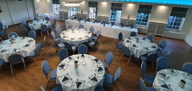 The reception space at Aldenham Golf & Country Club