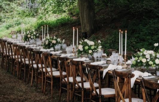 Have the perfect wedding reception at Gaddesden Estate