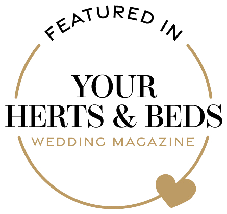 Featured in Your Herts and Beds Wedding magazine